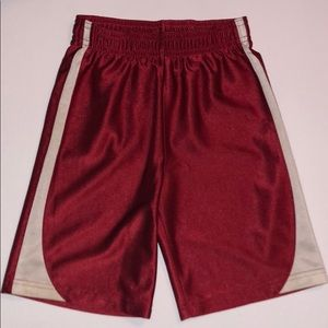 Boy's Jumping Beans red & gray shorts, Sz. 5/6